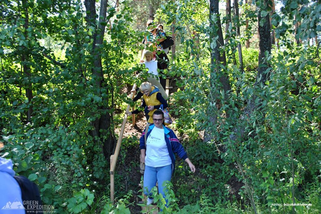 Туристический маршрут Впадение - Бузулукский бор. Фото 3