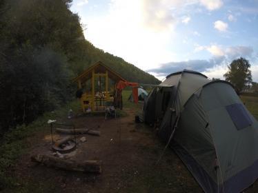 Палаточный лагерь в Мурадымово