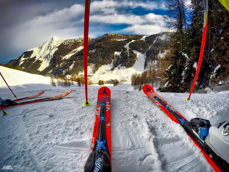 Активный отдых зимой - горные лыжи