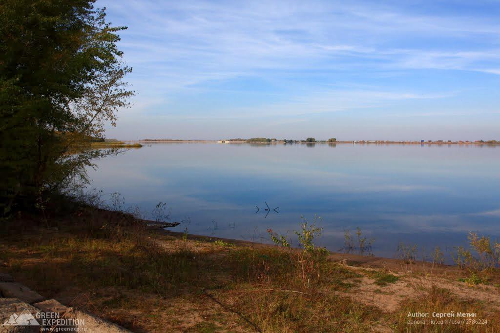 Фотография Димитровского водохранилища