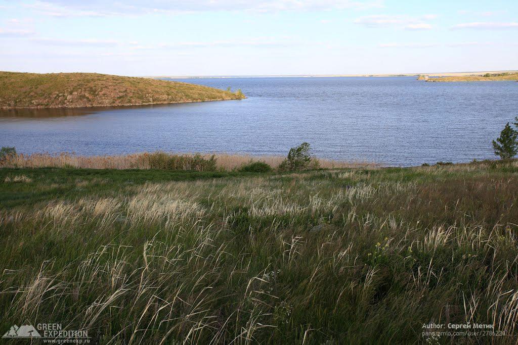 Фотография Ириклинского водохранилища